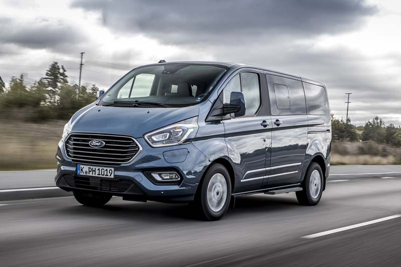 Ford Tourneo Custom plug in, prueba express