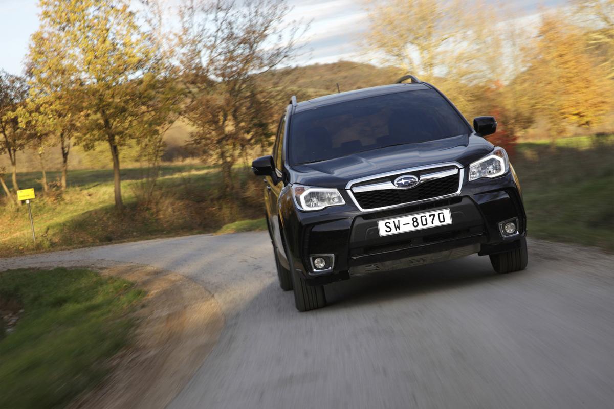 Subaru Forester, prueba dinámica