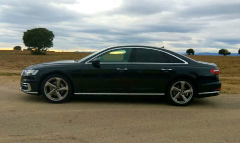 Audi A8 50 TDI quattro tiptronic, prueba a fondo