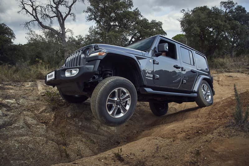 Jeep Wrangler 2018, prueba express