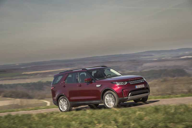 Land Rover Discovery 2017; prueba express