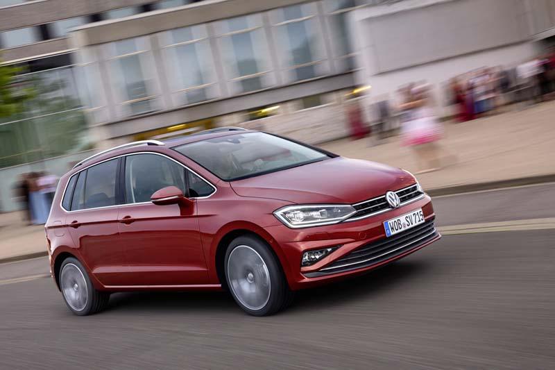 Volkswagen Golf Sportsvan 2017, prueba express