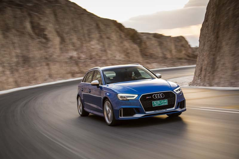 Audi RS 3 Sportback 2017, prueba a fondo