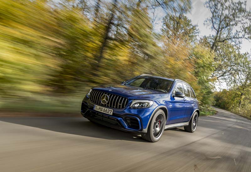 Mercedes AMG GLC 63 S 4Matic+ 2017, prueba express