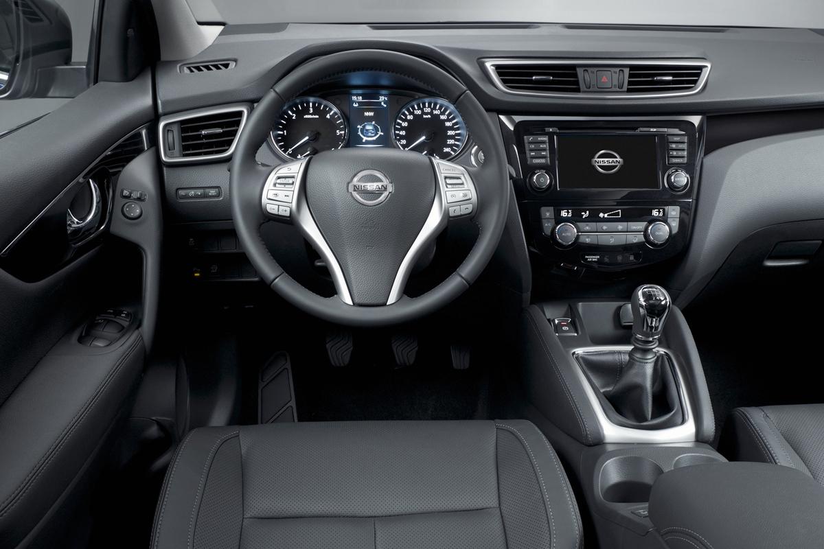 Nissan Qashqai 2014, plazas delanteras