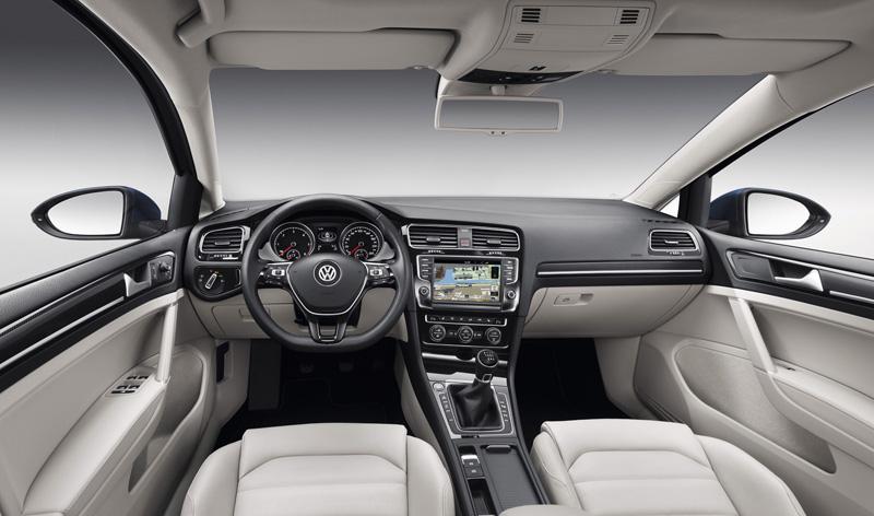 Volkswagen Golf VII, análisis plazas delanteras