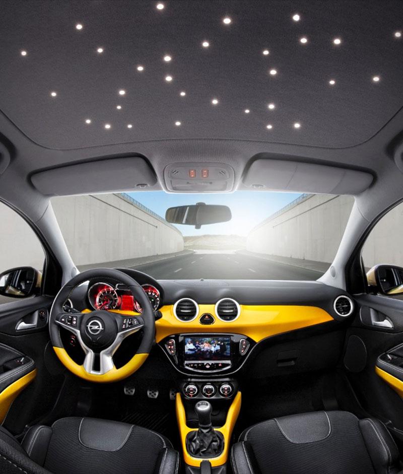 Opel Adam, an�lisis plazas delanteras