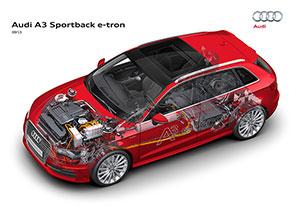 A fondo Audi A3 Sportback e-tron