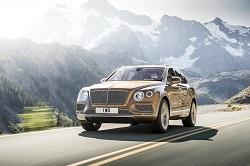 Bentley Bentayga, así debuta el glamouroso SUV en Frankfurt