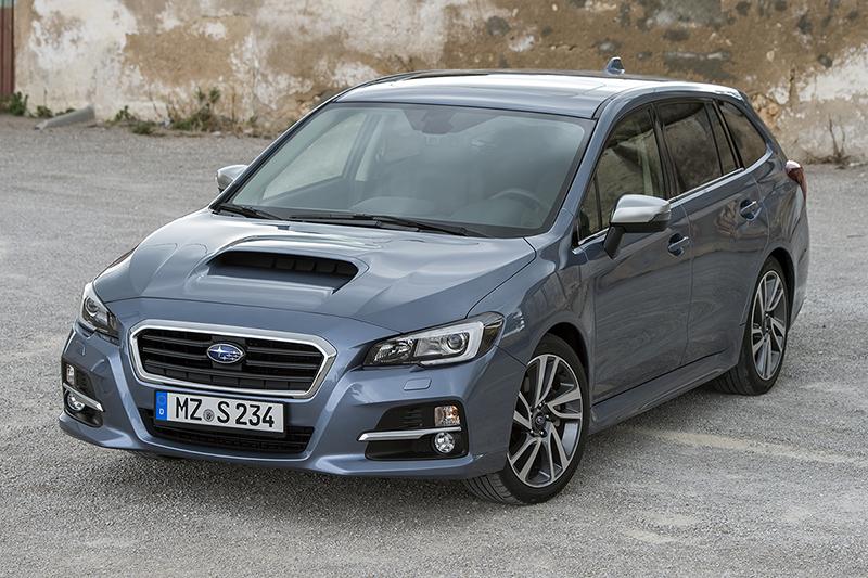 Subaru Levorg o el Legacy familiar