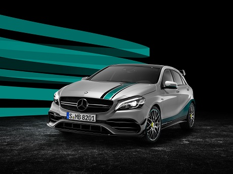 Mercedes-AMG A45 Petronas 2015 World Champion Edition, conmemorando los éxitos en F1