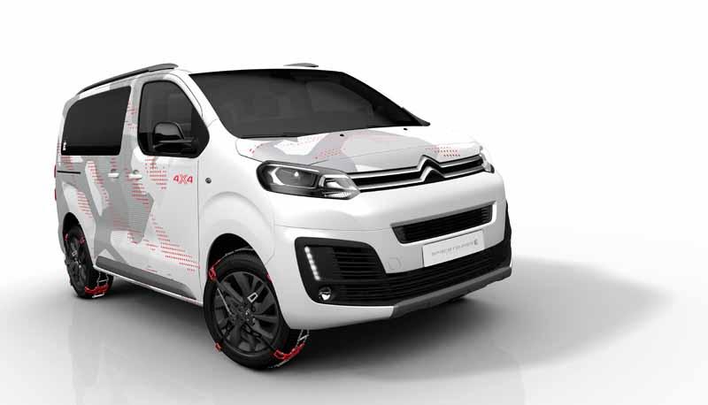 Citroën SpaceTourer 4X4 Ë Concept; ¿monovolumen? ¿SUV? Aventura y diversión en el Salón de Ginebra
