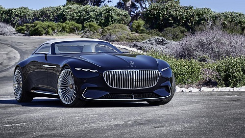 Vision Mercedes-Maybach 6 Cabriolet: el futuro del lujo, con cierto aire retro