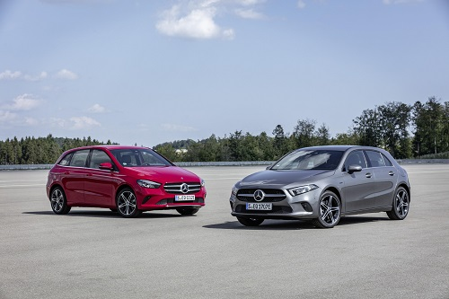 Nuevos Mercedes-Benz A 250 e y B 250 e, la tecnología EQ Power híbrida enchufable alcanza a la clase compacta de la estrella