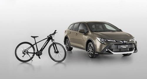 Toyota Corolla Trek, el nuevo familiar campero para los amantes del pedaleo