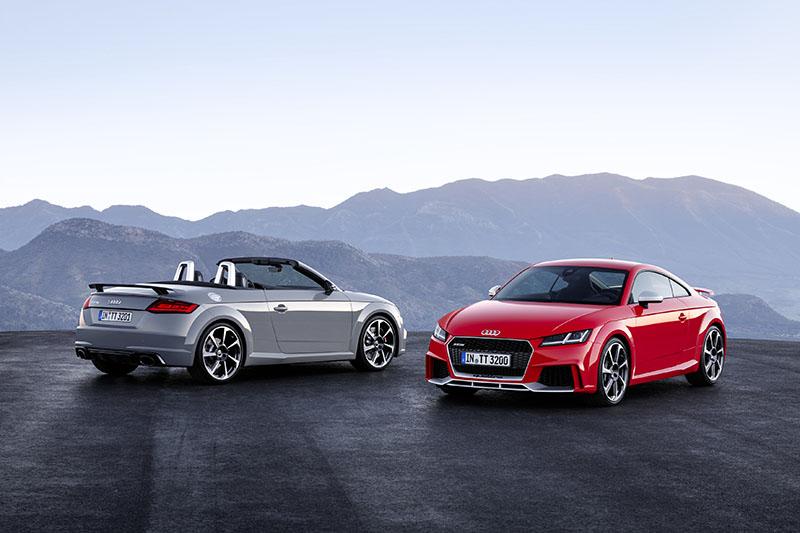 Audi presenta el nuevo TT RS