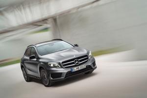 Mercedes-Benz GLA en el Sal�n de Frankfurt 2013