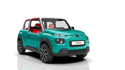 Citroën E-MEHARI, el regreso más limpio de un mito