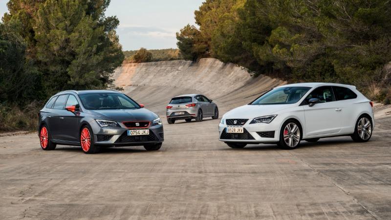 SEAT León Cupra 290, el SEAT de producción más potente hasta la fecha ya a la venta en España