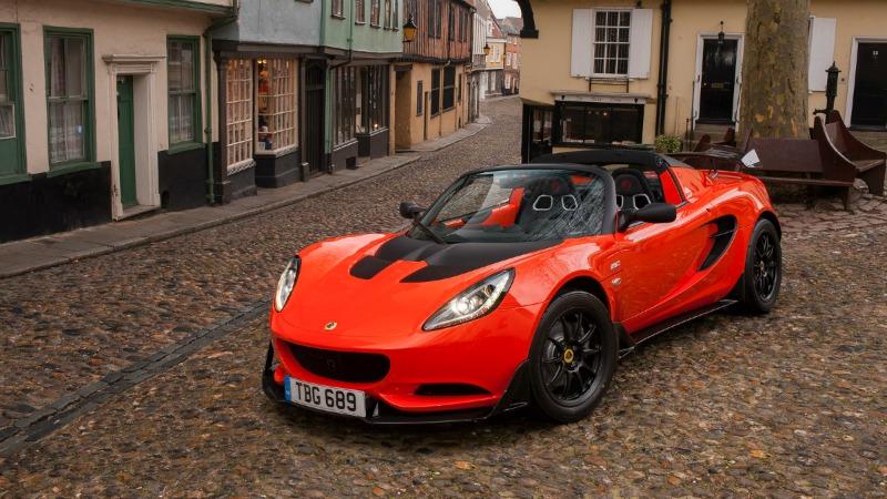 Lotus Elise Cup 250, auténtico Peso Pluma (Salón Ginebra 2016)