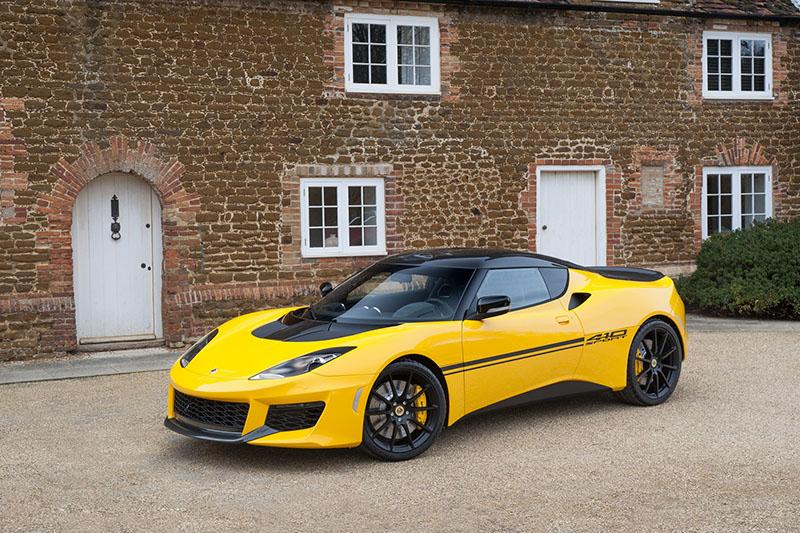 Lotus Evora Sport 410, camino a Ginebra (Salón Ginebra 2016)