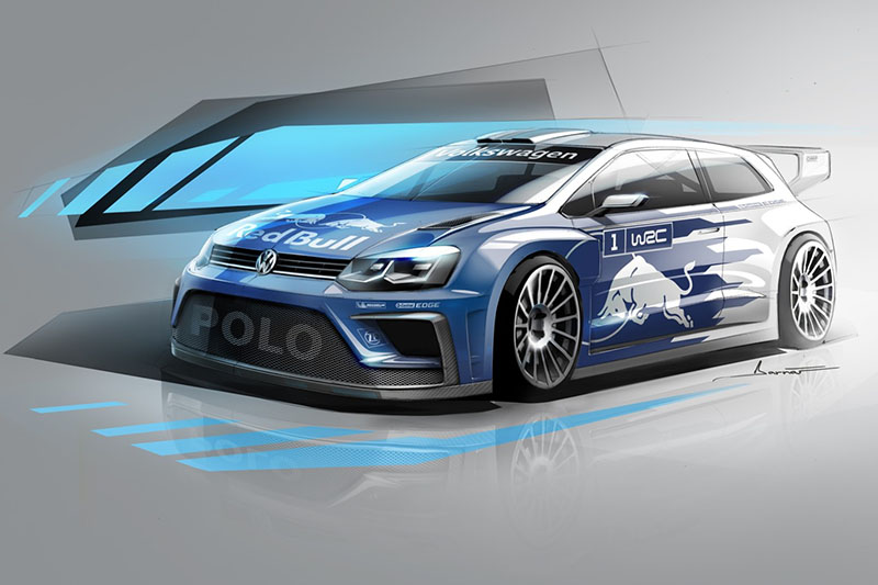 Volkswagen da el primer paso y adelanta algunos datos de su futuro Polo R WRC 2017