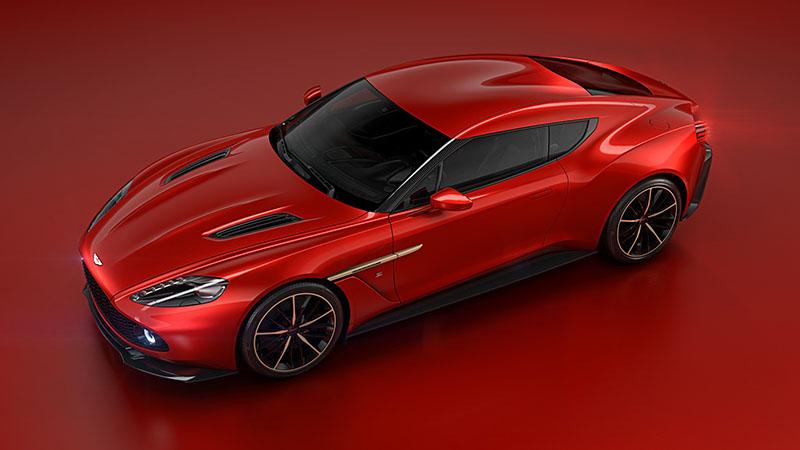 Aston Martin Vanquish Zagato Concept, una obra de arte