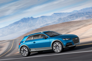 Audi allroad shooting brake en el Salón de Detroit 2014