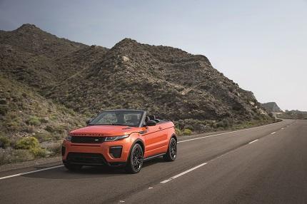 Range Rover Evoque Convertible, aventurero todo el año