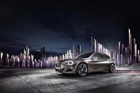 BMW Concept Compact Sedan, ¿nueva berlina compacta premium a la vista?