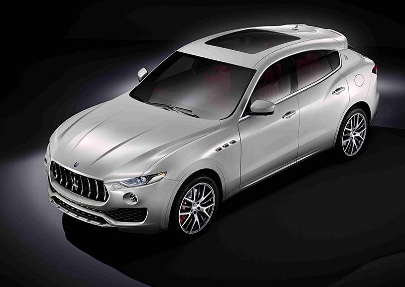 Maserati Levante, primeras imágenes oficiales (Salón Ginebra 2016)