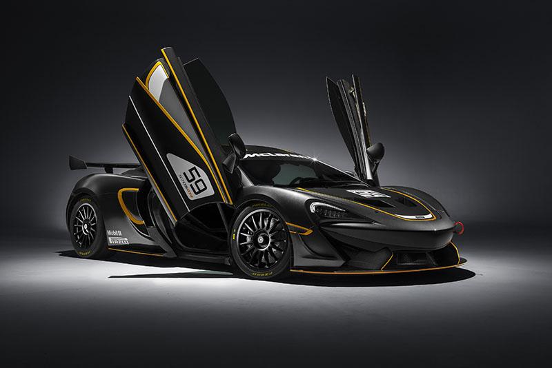 McLaren 570S GT4, nuevo miembro de la familia Sport Series