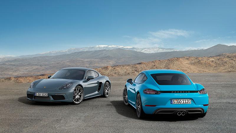 Porsche 718 Cayman, más prestaciones menos consumo