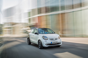Smart fortwo con cambio de doble embrague 2015