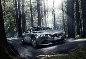 Peugeot Exalt en el Salón de París 2014