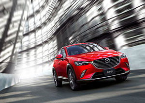 Mazda CX-3 primicia en Los Angeles