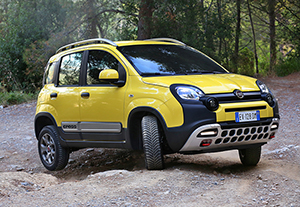 Fiat Panda y Freemont Cross 2014