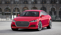 Audi TT Sportback Concept en París