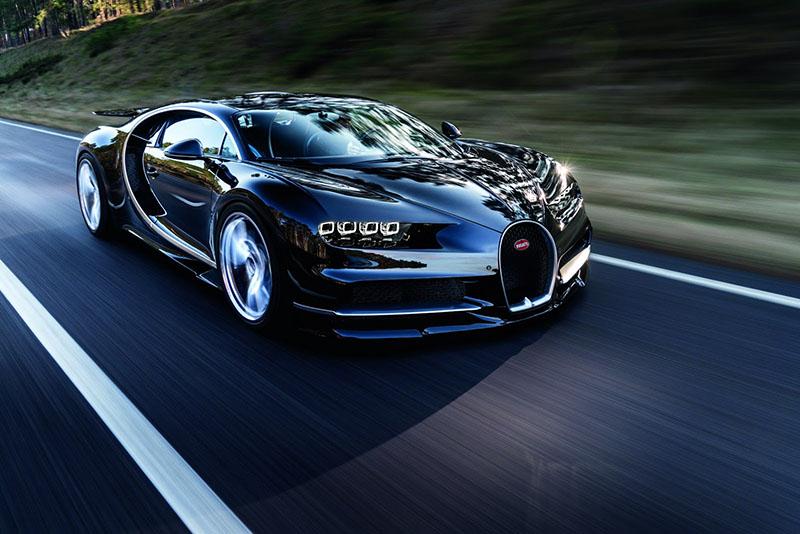 Ya está aquí y es muy real, es el Bugatti Chiron (Salón Ginebra 2016)