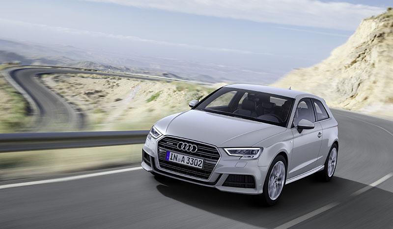Así es el restyling del Audi A3