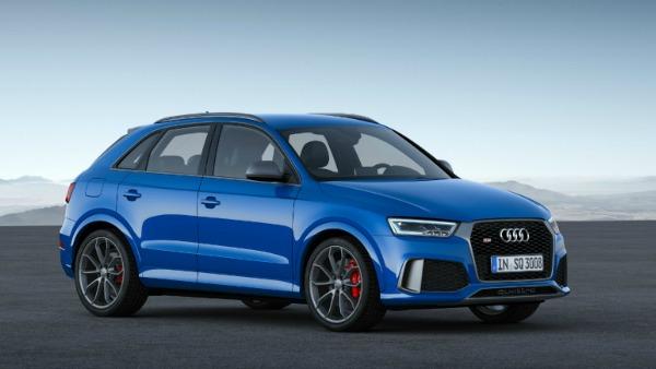 Audi RS Q3 performance, el SUV más potente de Audi (Salón Ginebra 2016)