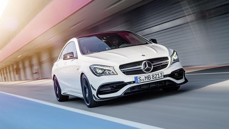Mercedes-AMG CLA45 4MATIC, también con ligeros cambios para 2016