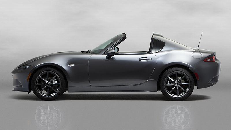 Mazda MX-5 RF, sorpresa para el Salón de Nueva York