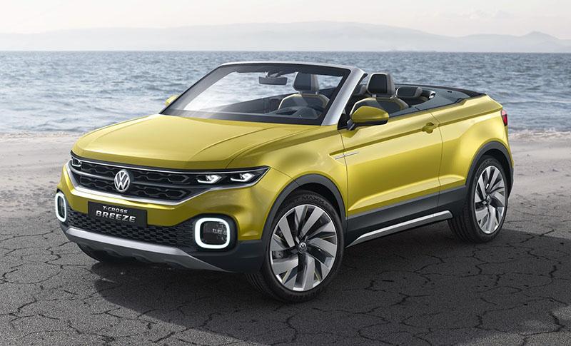 Volkswagen T-Cross Breeze, un adelanto del posible rival del Juke (Salón Ginebra 2016)