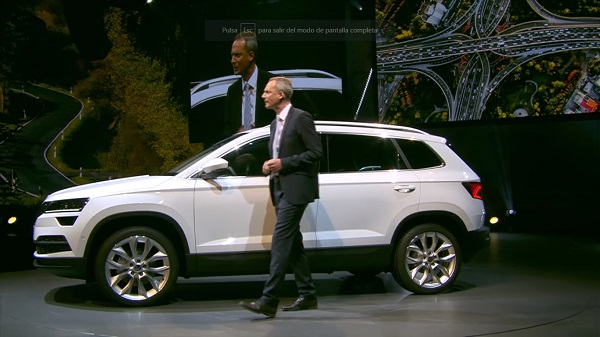 Skoda Karoq, el nuevo SUV compacto de Skoda ve la luz