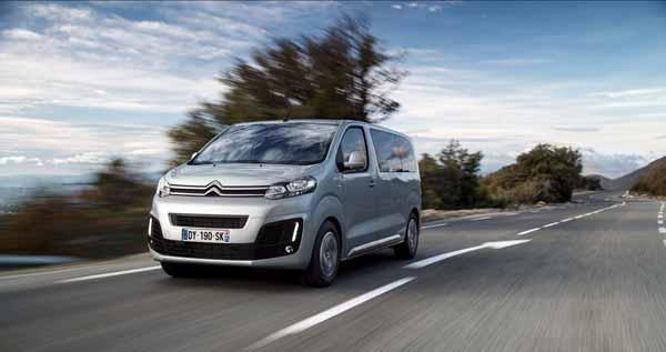 Espacio para 9 personas… y lo que quieras en el nuevo Citroën SpaceTourer
