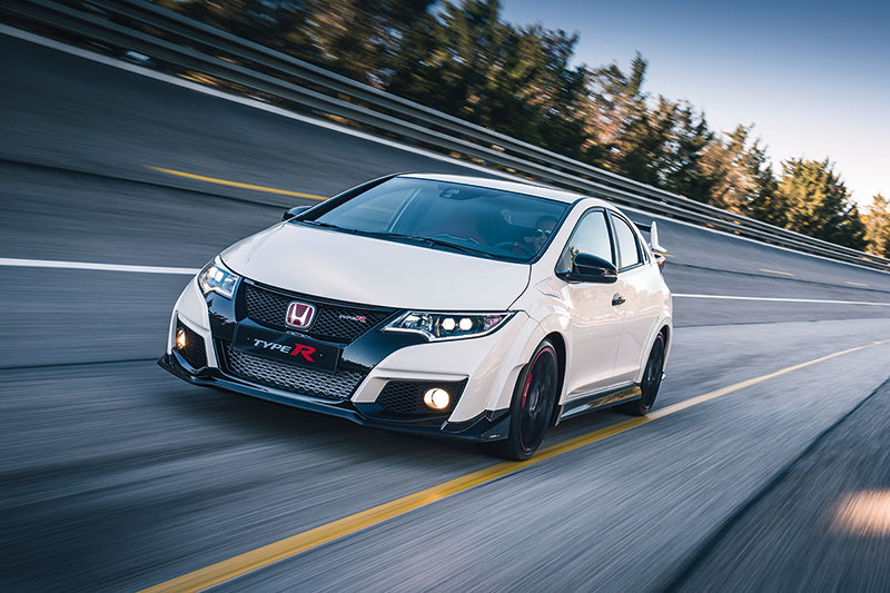 Honda Civic Type R al detalle