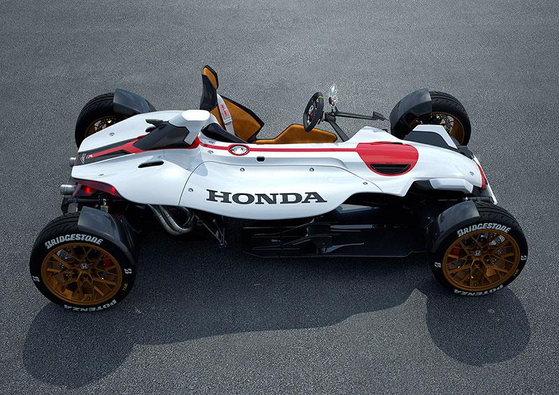 Honda RC213V, la moto-coche de Honda