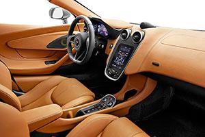 McLaren 570S Coupe; elegante deportividad