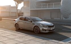 Kia Optima T-Hybrid Concept 2014
